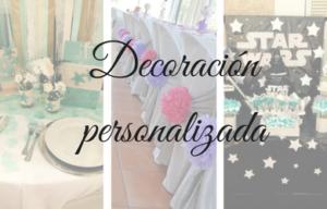 decoracion personalizada